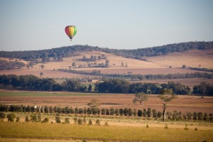 Hot air balloon rides over Canowindra